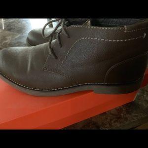Men's Atticus Lace Brown Oxford shoes- Size 10 1/2